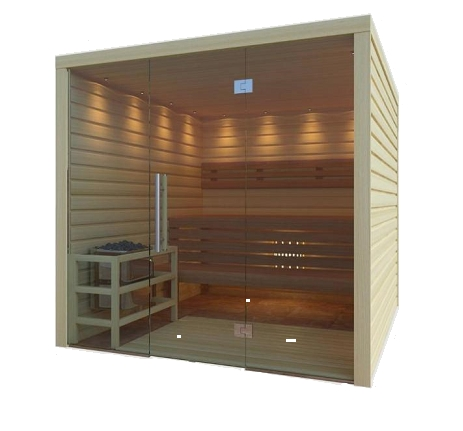 Consruction STEAM sauna construction sauna prefabricated pools