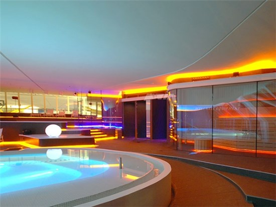 projects included construction STEAM pool whirlpool spa and prefabricated pools