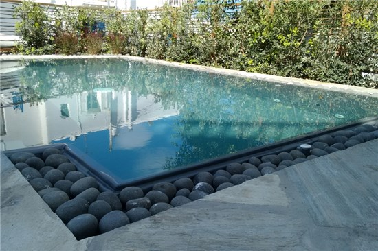 prefabricated swimming pools with overflow. Black Bedroom Furniture Sets. Home Design Ideas