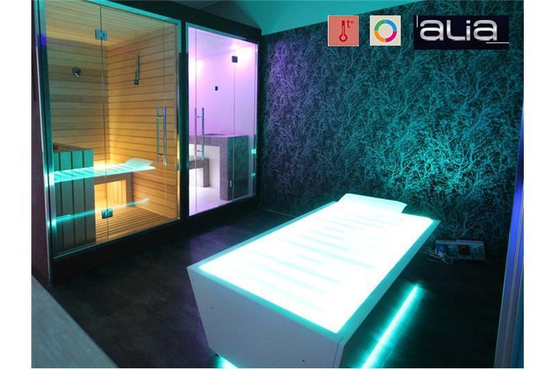Consruction STEAM sauna construction sauna prefabricated pools